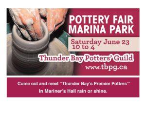 Thunder Bay Potters' Guild Pottery Fair