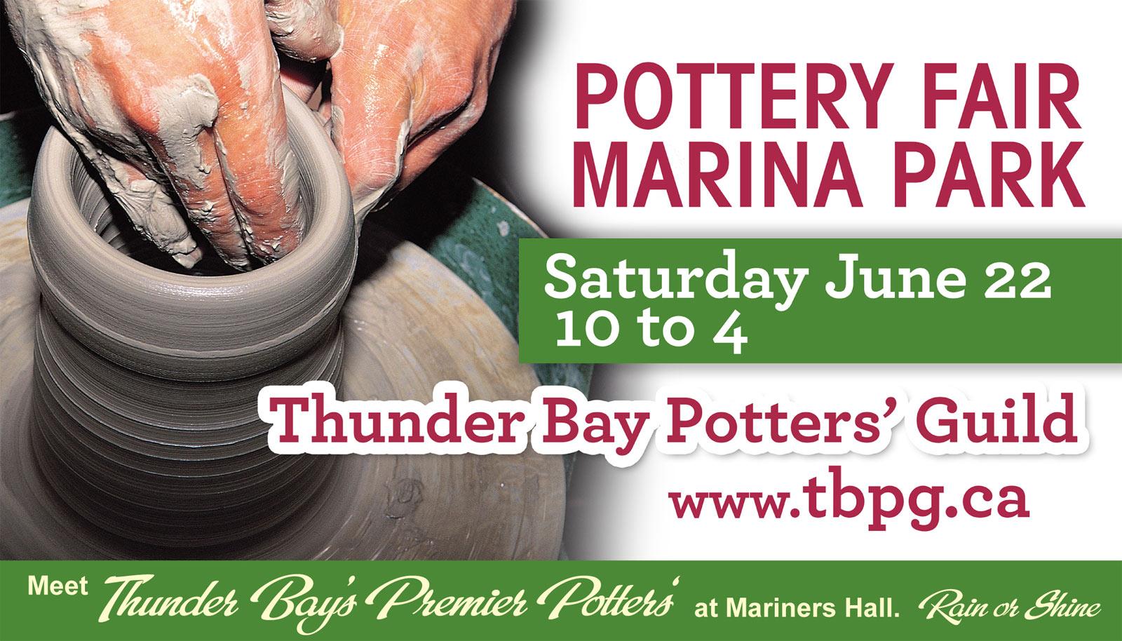 Spring Sale Thunder Bay Potters Guild