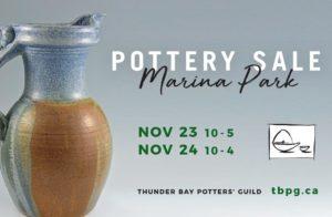 Thunder Bay Potters' Guild Christmas Sale 2019