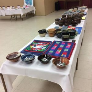 Empty Bowls Caring Hearts