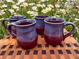 Karen Long Phire Pottery - Mugs