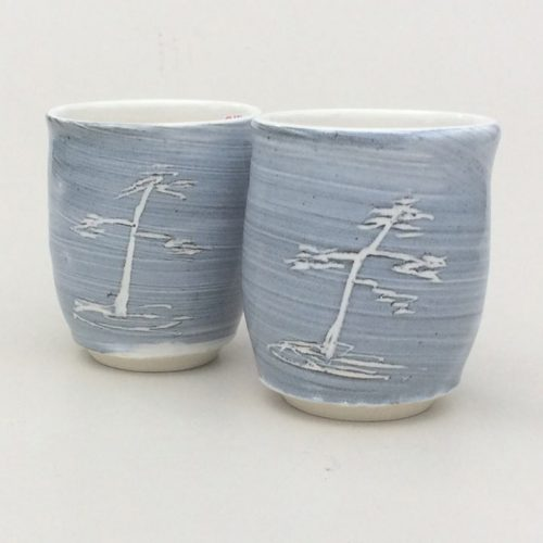 Alan Moon Pottery Stemless Goblets