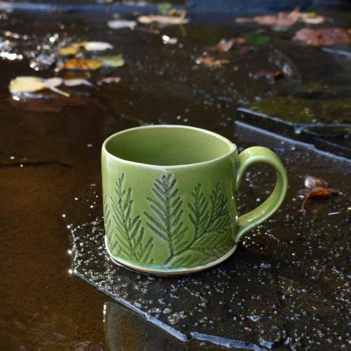 Kat Twomey - Green Mug River - Small