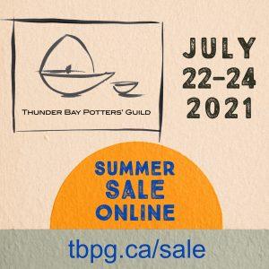Thunder Bay Potters' Guild Summer Sale - Online!